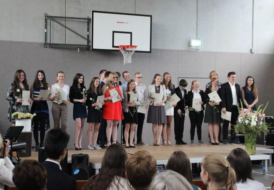Abiturienten 2015