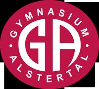 Logo Gymnasium Alstertal negativ