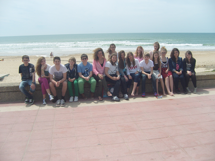 Schüleraustausch Chiclana 2013